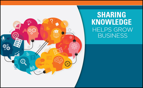 Sharing Knowledge Helps Grow Business