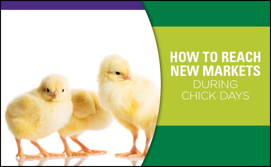 How to Reach New Markets During Chick Days