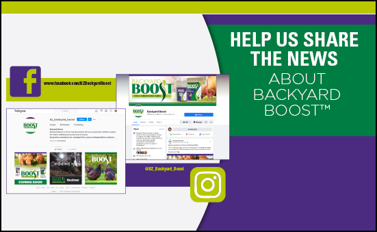 Help Us Share the News About Backyard® Boost™