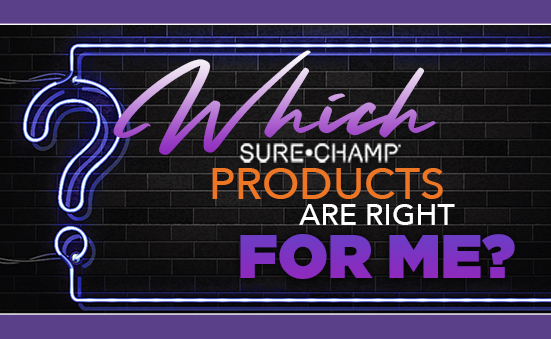 Sure Champ Product Quiz is now LIVE!