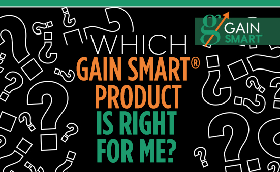 The Gain Smart Product Quiz is now LIVE!