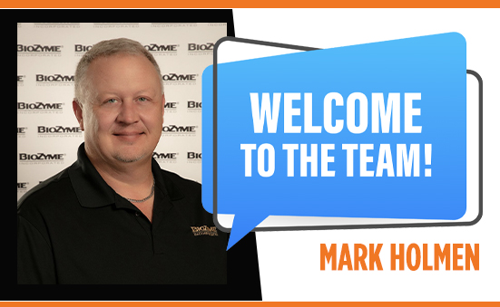 Mark Holmen Joins BioZyme® Inc. Team