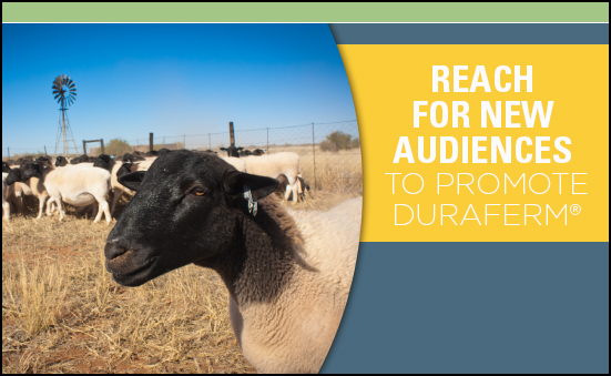 Reach for New Audiences to Promote DuraFerm®
