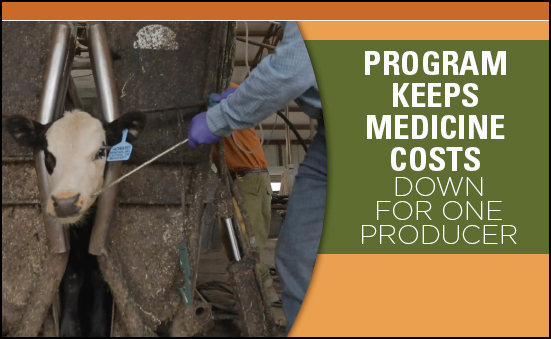 Program Keeps Medicine Costs Down for one Producer
