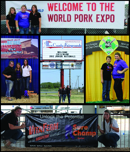 We missed our photo opportunity at the Jr. National Hereford Expo, but we certainly had a great time at all of the junior national events this summer!