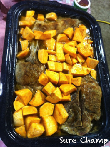 Pork Roast & Sweet Potatoe