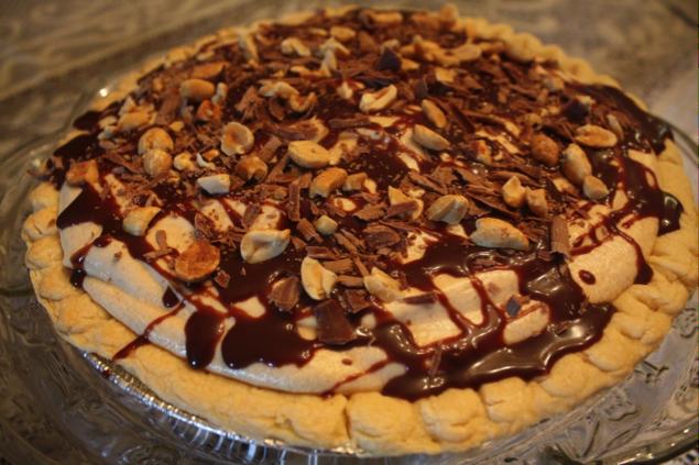 The Ranch Kitchen Peanut Butter Pie