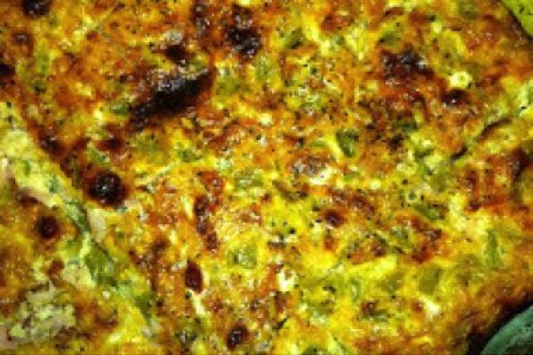 Green Chili, Sausage and Egg Casserole