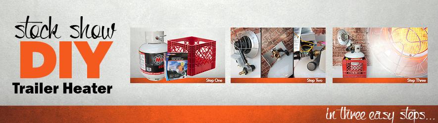 DIY Stock Show Trailer Heater