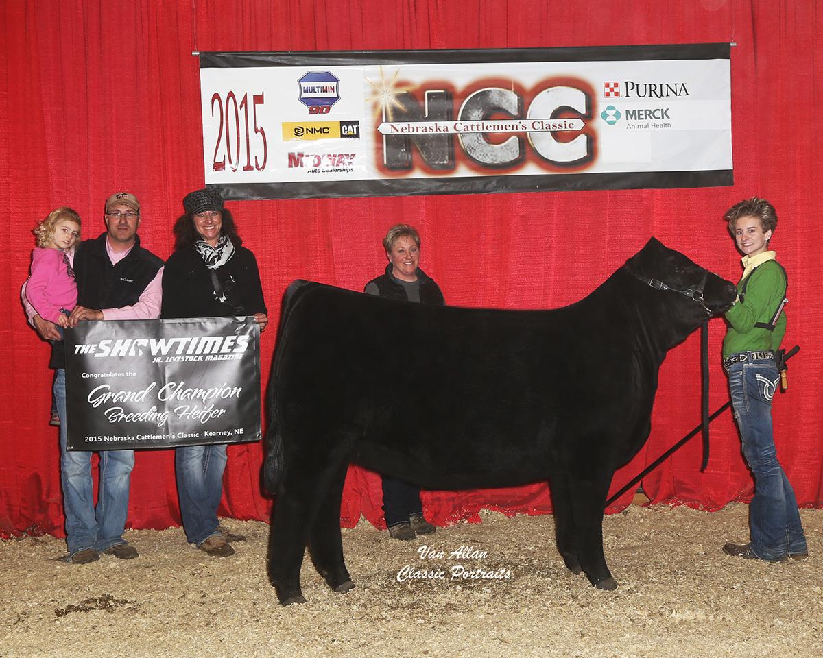 Nebraska Cattlemens Classic Supreme Hfr