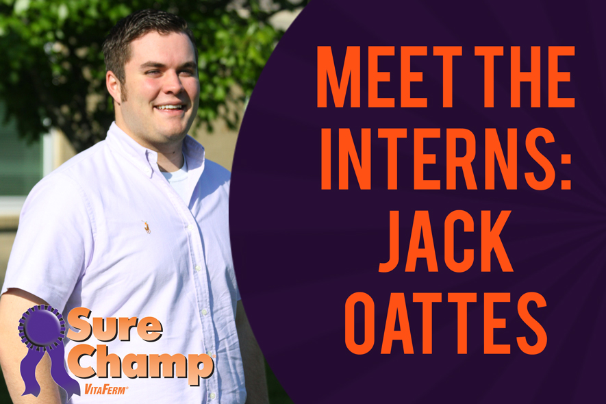 Sure Champ Intern Jack Oattes