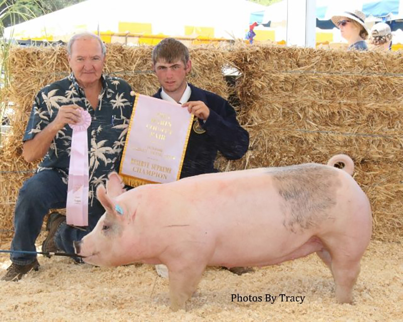Cody Strode-Reserve Supreme Champion-Marin County Fair