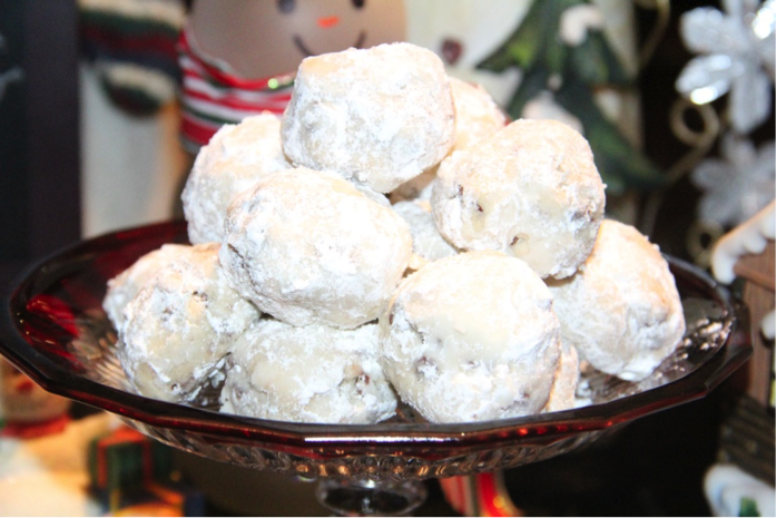 modern day snowball cookies