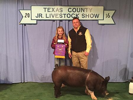 JacquelineBerry_ChampHampandOverallGrand_TexasCountyJrLivestock