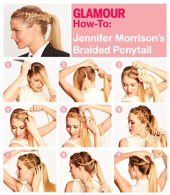 Brilliant 15 Cute Easy Ponytails Sure Champ Natural Hairstyles Runnerswayorg