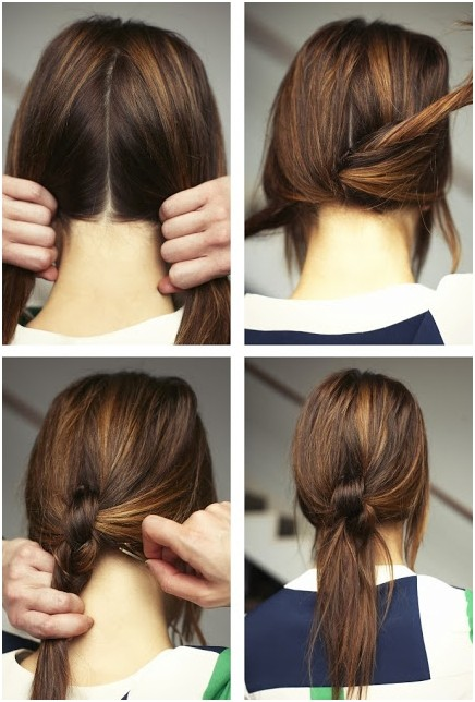 Marvelous 15 Cute Easy Ponytails Sure Champ Natural Hairstyles Runnerswayorg