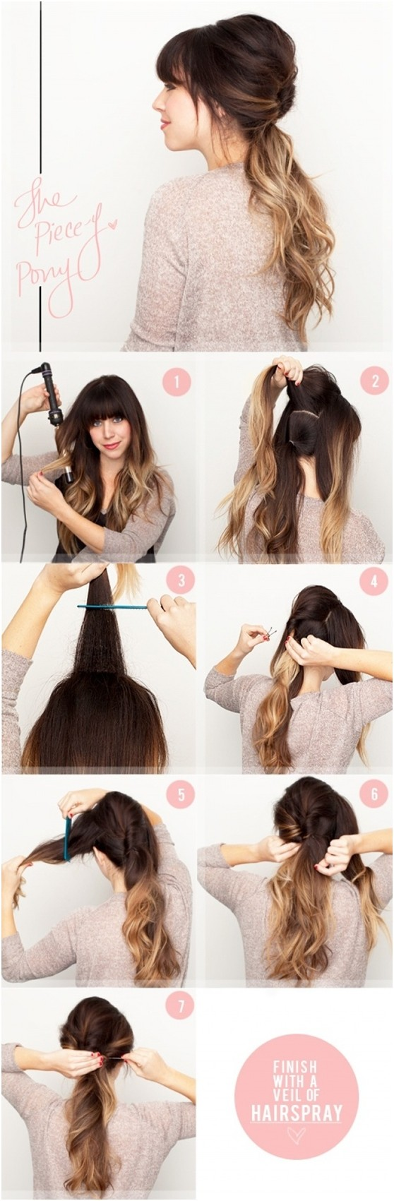 Awe Inspiring 15 Cute Easy Ponytails Sure Champ Natural Hairstyles Runnerswayorg
