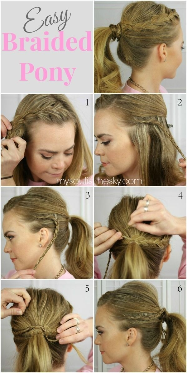 Surprising 15 Cute Easy Ponytails Sure Champ Natural Hairstyles Runnerswayorg