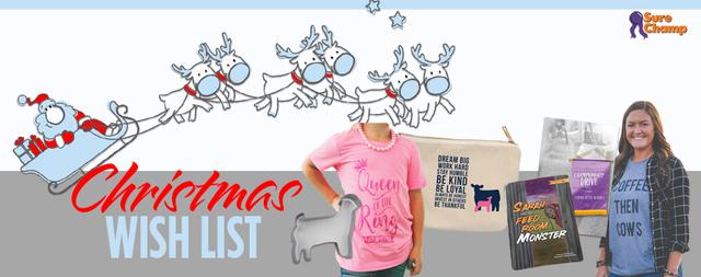 Stock Show Christmas Girl Wish List