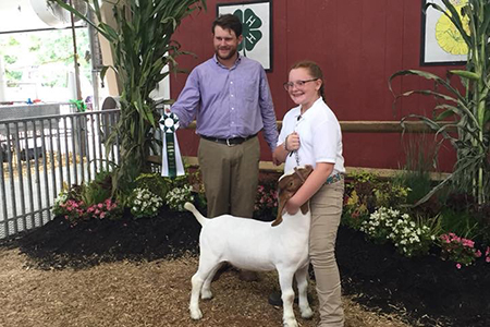 18 Carroll County Fair, Grand Champion Rate of Gain,Shown by Hannah Staub TEST