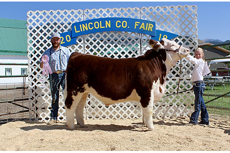 18 Lincoln Co Fair, Reserve Champion, Oakley Hepworth Test