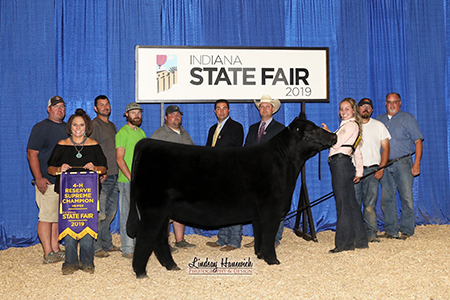 2019 Indiana State Fair, Reserve Supreme Female, Shown by Payton Farmer-test