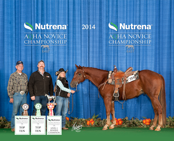AQHA Champion uses Vitalize