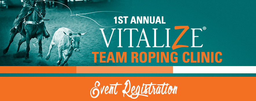 Vitalize Team Roping Event